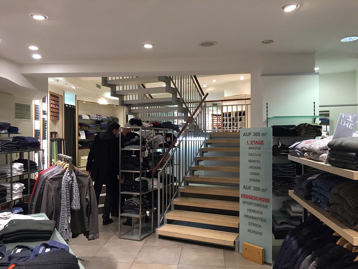 Madaus Design, Robert Ley Damen Store Bonn, Zustand vor dem Umbau